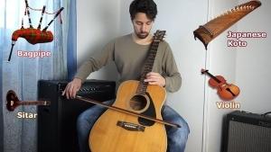 Davidlap und seine Gitarre, die wie andere Instrumente klingt | Musik | Was is hier eigentlich los?