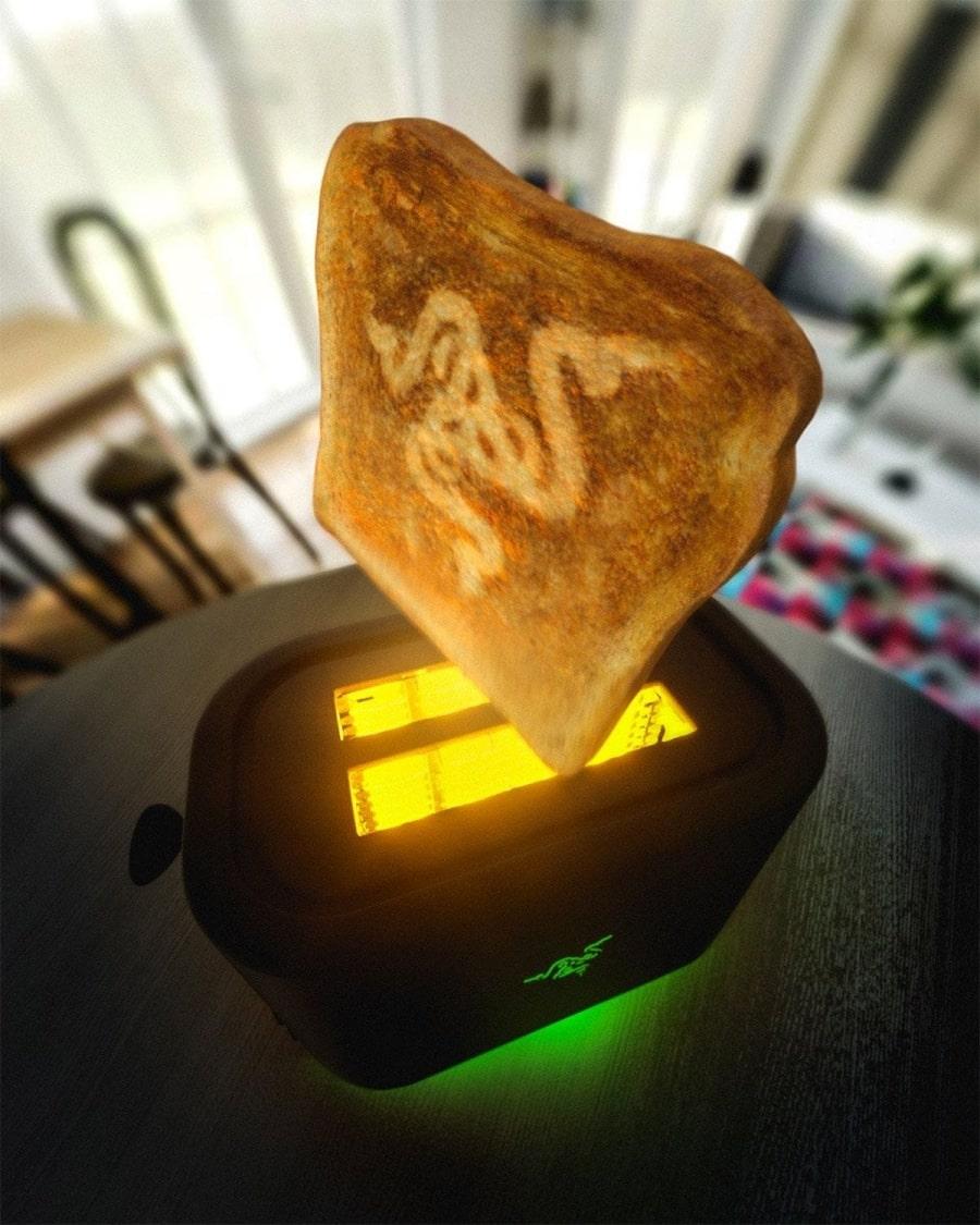Der erste Toaster für Gamer | Gadgets | Was is hier eigentlich los?