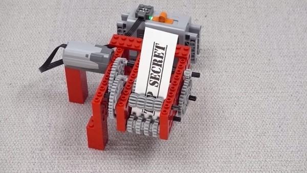 Ein Mini-Papier-Schredder aus LEGO | Gadgets | Was is hier eigentlich los?
