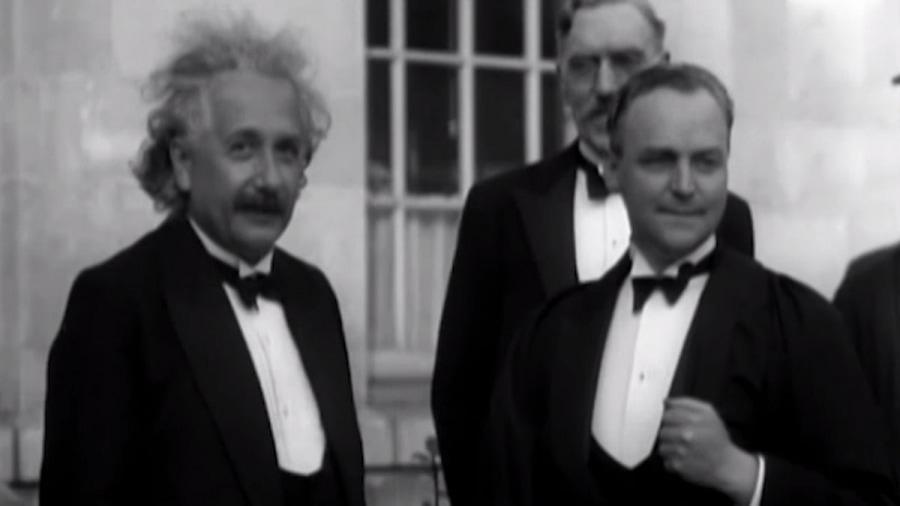 Seltene Aufnahmen von Albert Einstein und wie er spricht | Zeitgeschichte | Was is hier eigentlich los?