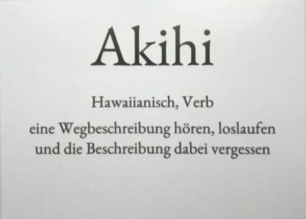 Akihi – Der Montag in einem Wort | Lustiges | Was is hier eigentlich los? | wihel.de