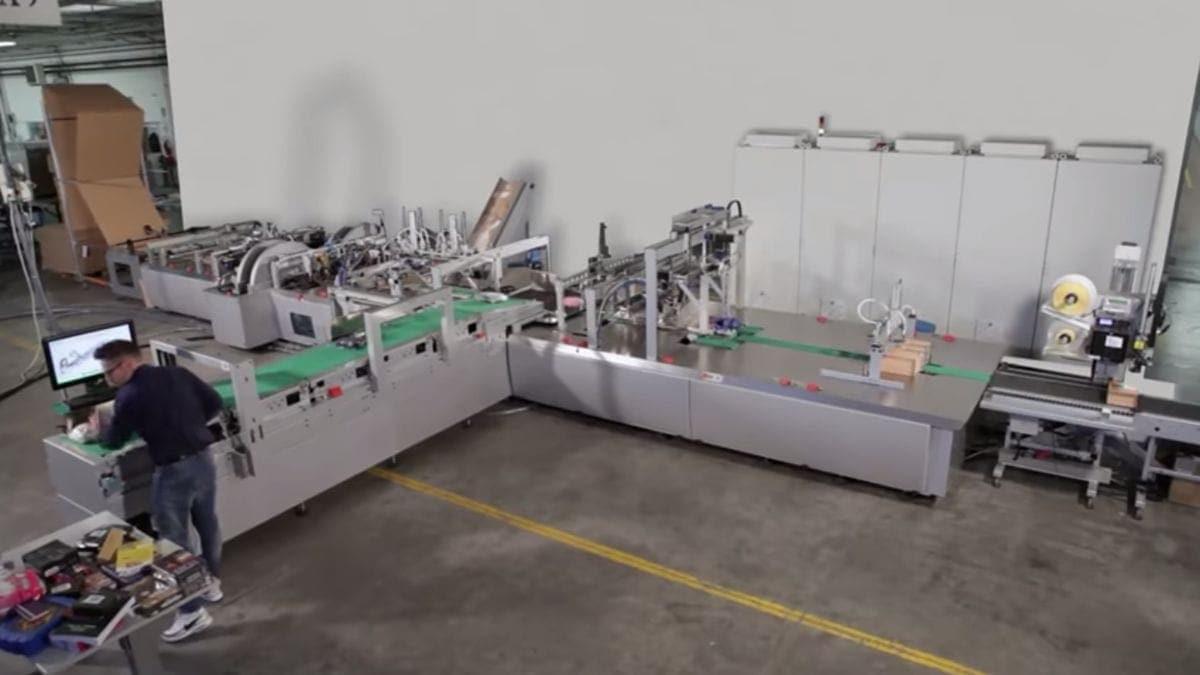 Eine Maschine, die individuelle Papp-Verpackungen anfertigen kann | Gadgets | Was is hier eigentlich los?