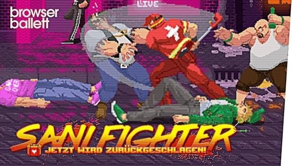 Sani Fighter – Jetzt wird zurückgeschlagen | Games | Was is hier eigentlich los?