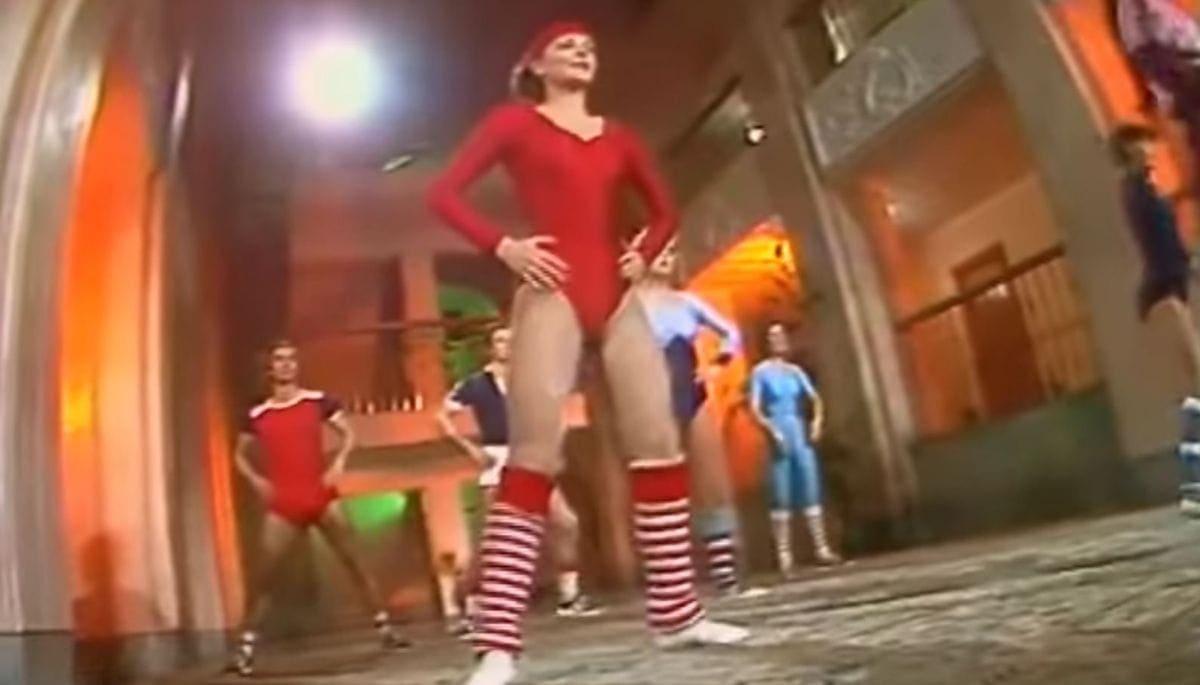 Sowjetische Aerobic mit Lilia Sabitove von 1985 | Awesome | Was is hier eigentlich los?