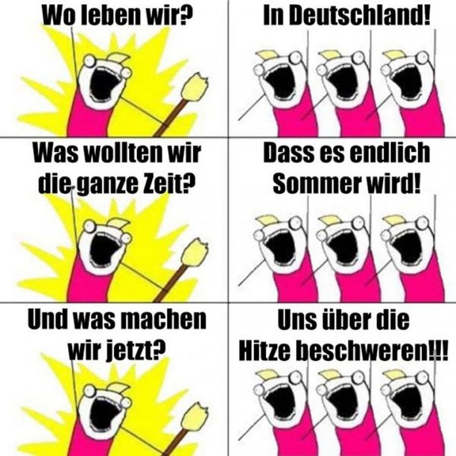 Typisch deutsch | Lustiges | Was is hier eigentlich los?