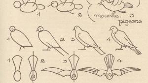 Wie man Tiere zeichnet – Anleitungen von 1930 | Design/Kunst | Was is hier eigentlich los? | wihel.de