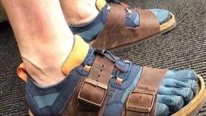 Deutsche Schuh-Mode | Lustiges | Was is hier eigentlich los?