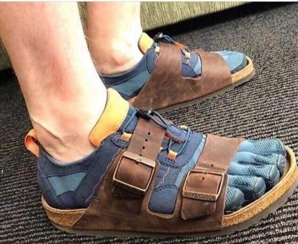 Deutsche Schuh-Mode | Lustiges | Was is hier eigentlich los? | wihel.de