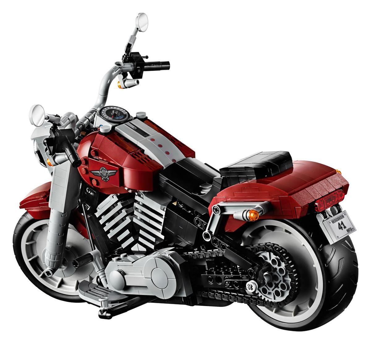 Die Harley Davidson Fat Boy von LEGO | Gadgets | Was is hier eigentlich los?