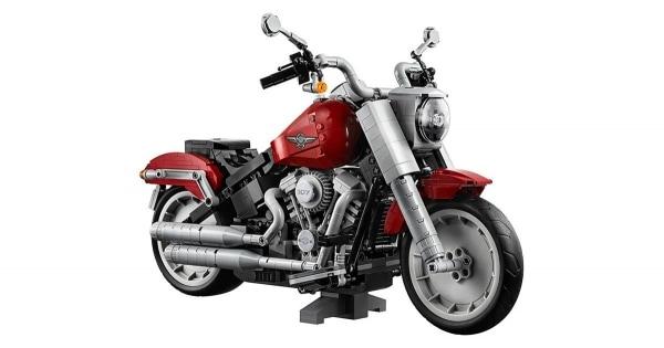 Die Harley Davidson Fat Boy von LEGO | Gadgets | Was is hier eigentlich los? | wihel.de
