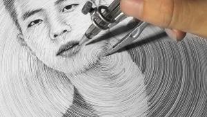 DP Truong und seine Zirkel-Zeichnungen | Design/Kunst | Was is hier eigentlich los?