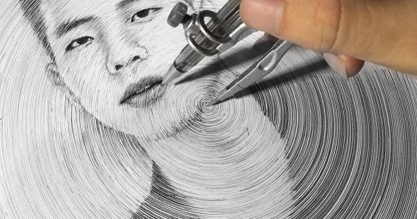 DP Truong und seine Zirkel-Zeichnungen | Design/Kunst | Was is hier eigentlich los? | wihel.de