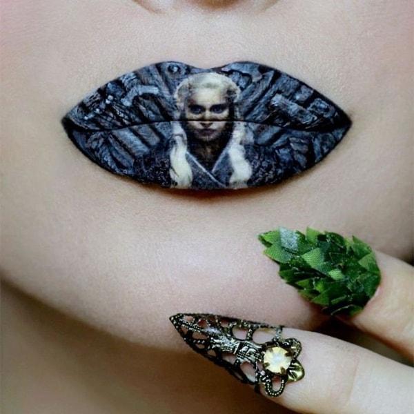 Lipart – Die Lippenstiftkunst von Ryan Kelly | Design/Kunst | Was is hier eigentlich los? | wihel.de