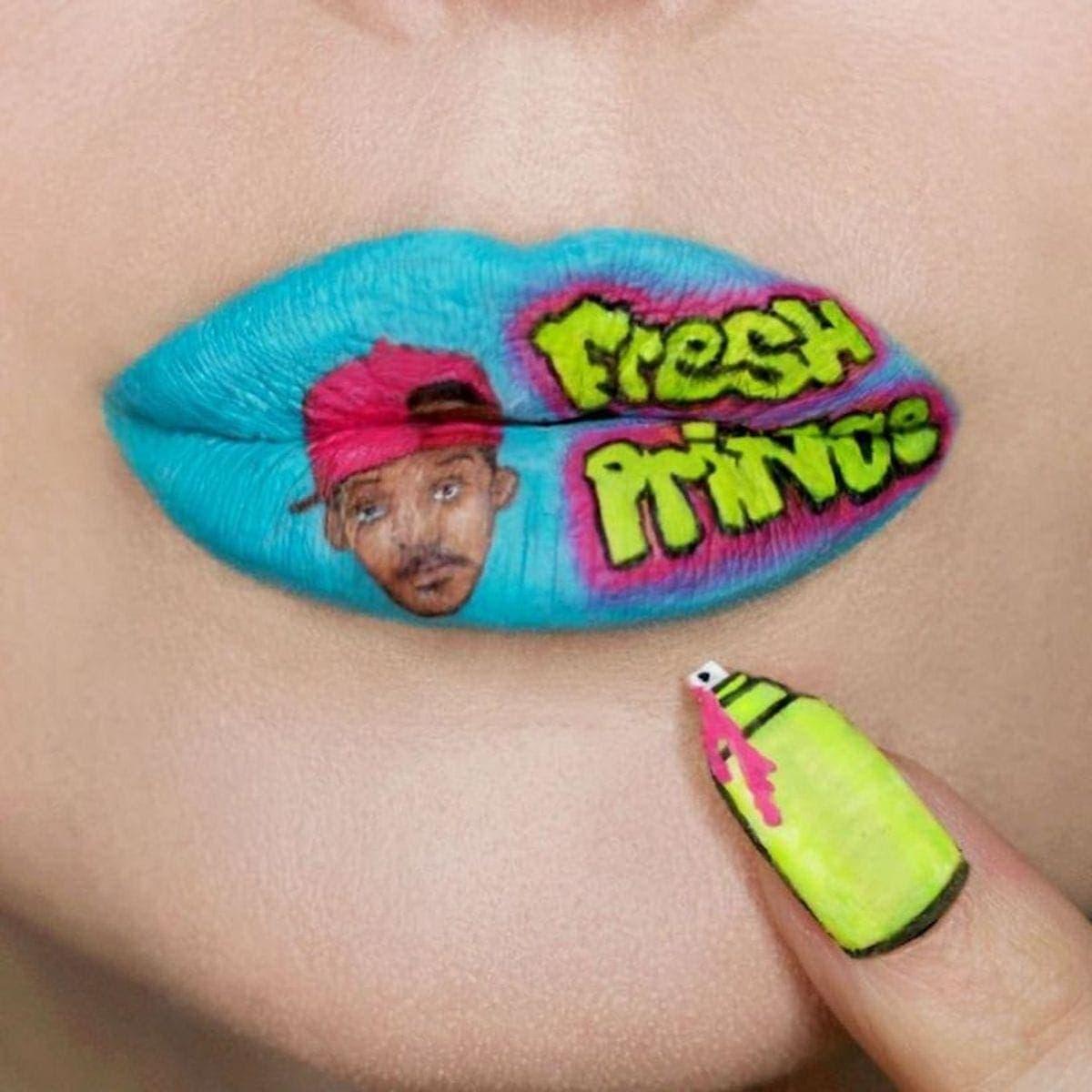 Lipart – Die Lippenstiftkunst von Ryan Kelly | Design/Kunst | Was is hier eigentlich los?