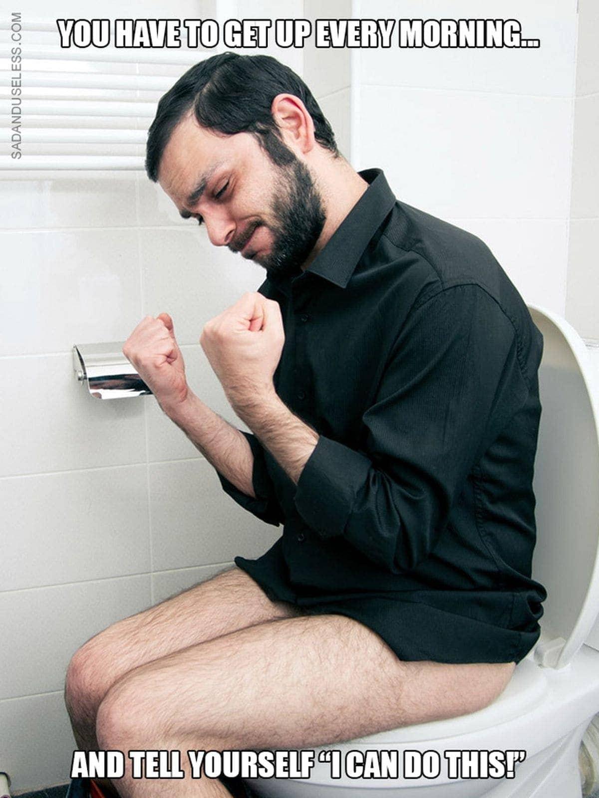 Motivationssprüche in Verbindung mit Leuten auf Toilette – Die Idee des Monats | Lustiges | Was is hier eigentlich los?