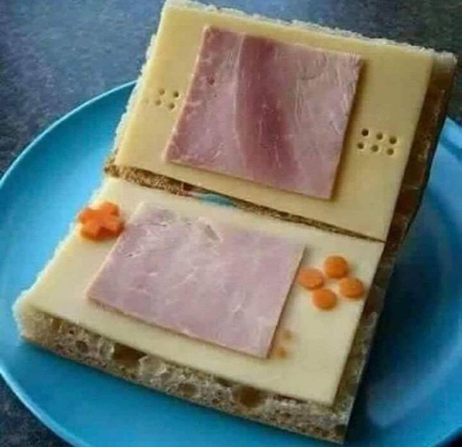 Schnapper: Nintendo DS Sandwich Edition   Lustiges   Was is hier eigentlich los?
