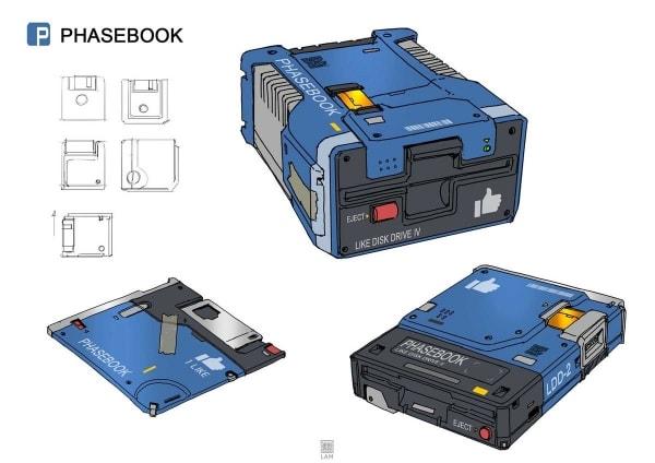 Soziale Netzwerke als Retro-Technik – Illustriert von Sheng Lam | Design/Kunst | Was is hier eigentlich los? | wihel.de