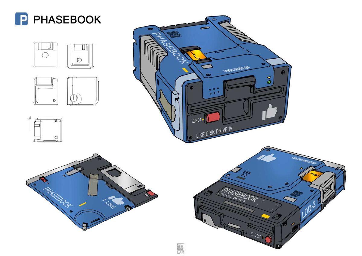 Soziale Netzwerke als Retro-Technik – Illustriert von Sheng Lam | Design/Kunst | Was is hier eigentlich los?