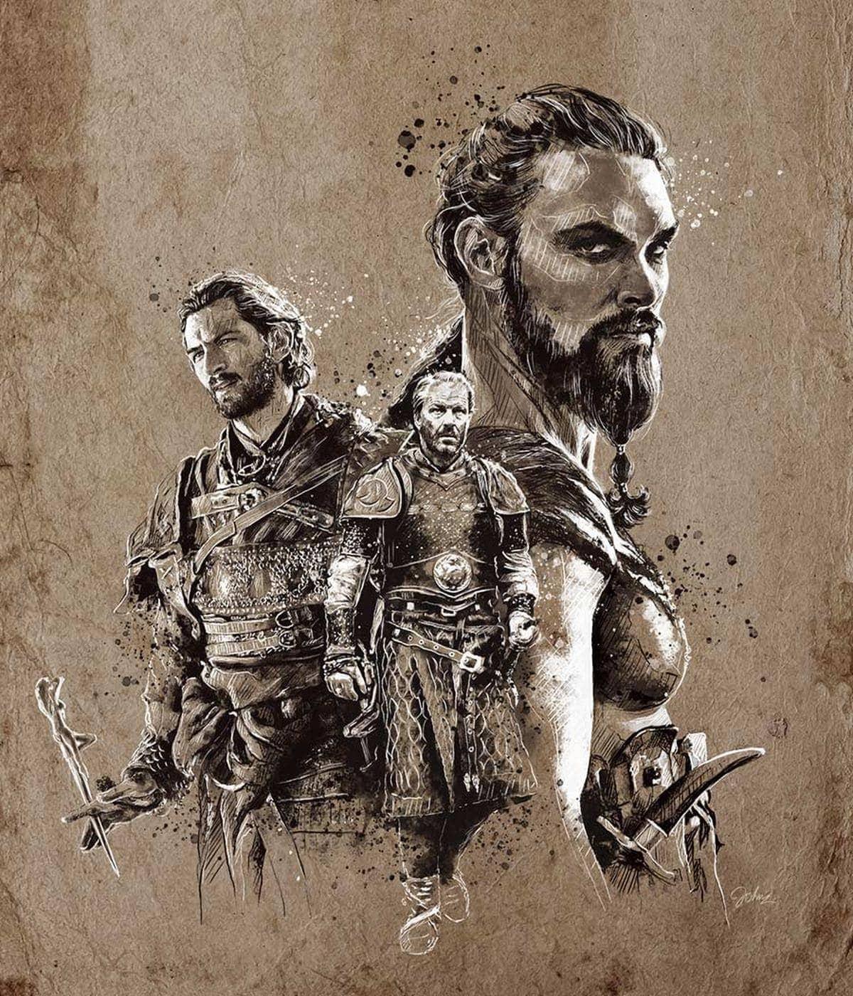 Starke Game of Thrones-Zeichnungen von John Paul Xavier | Kino/TV | Was is hier eigentlich los?
