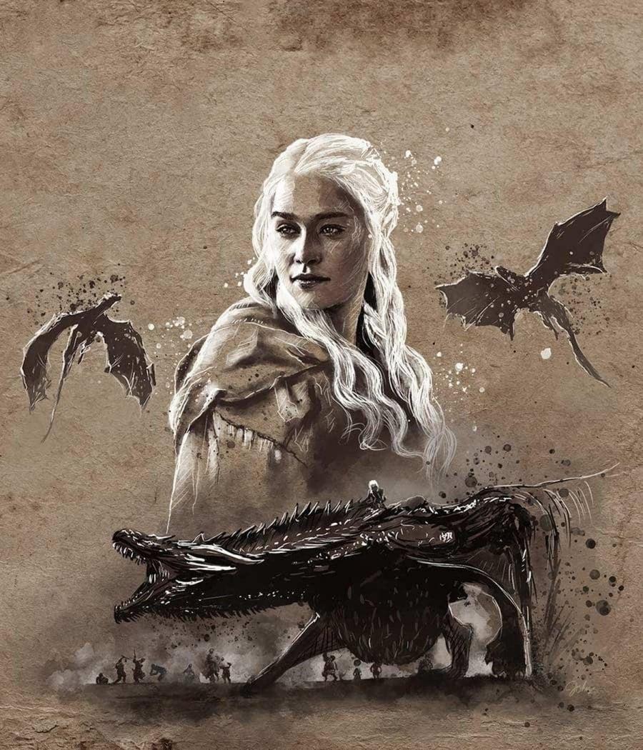 Starke Game of Thrones-Zeichnungen von John Paul Xavier   Kino/TV   Was is hier eigentlich los?