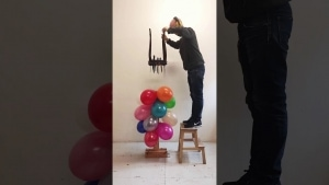 2 Minuten kreative Luftballon-Zerstörung | Design/Kunst | Was is hier eigentlich los?
