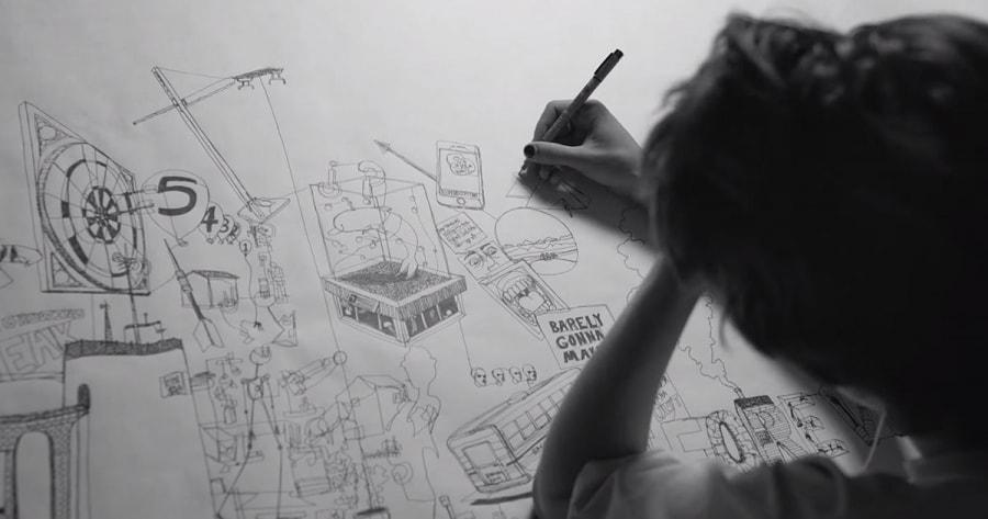In 24 Stunden ein Bild mit nur einem Strich zeichnen | Design/Kunst | Was is hier eigentlich los?