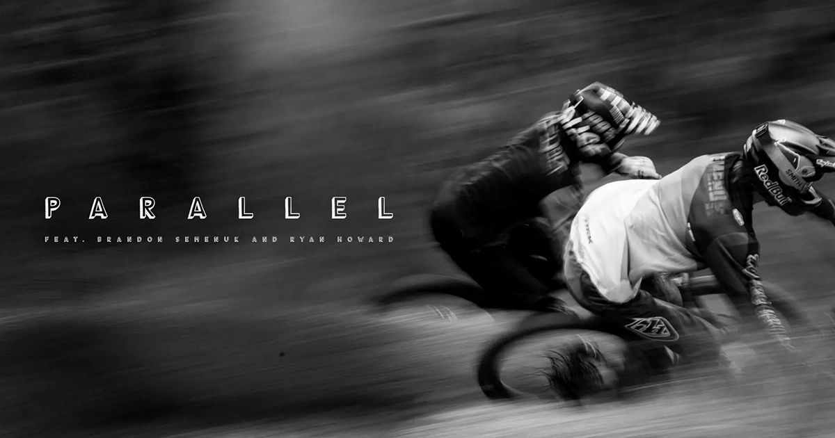 Parallel – Zwei Mountainbiker in Action | Awesome | Was is hier eigentlich los?
