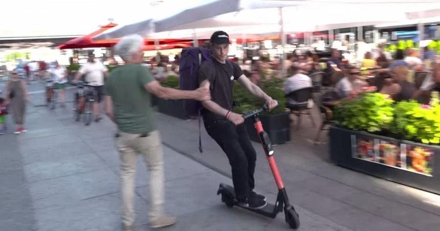 Straßenkampf dank E-Scooter | Menschen | Was is hier eigentlich los?