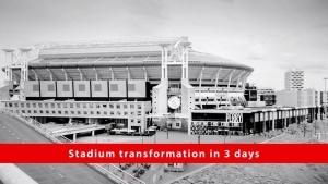 Timelapse: Vom Konzert im Stadion zurück zur Fußballarena | Awesome | Was is hier eigentlich los?