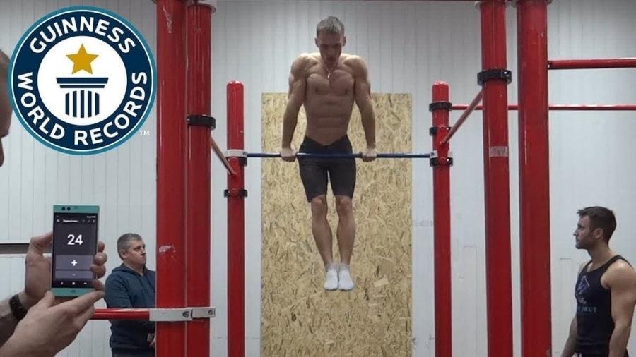 Weltrekordversuch: Die meisten aufeinanderfolgenden Muscle Ups | Awesome | Was is hier eigentlich los?