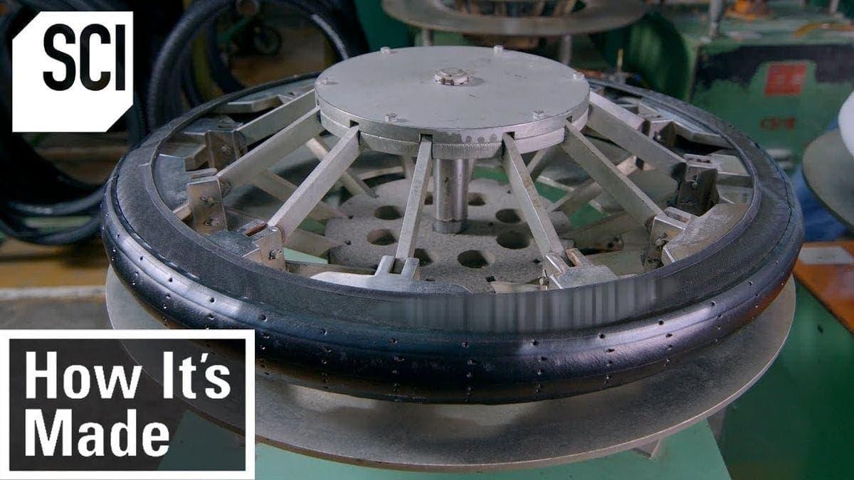 Wie Fahrrad-Reifen hergestellt werden | Was gelernt | Was is hier eigentlich los?
