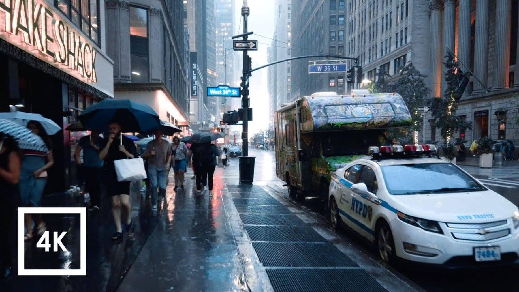 Eine Stunde durch den New Yorker Regen laufen | Travel | Was is hier eigentlich los?