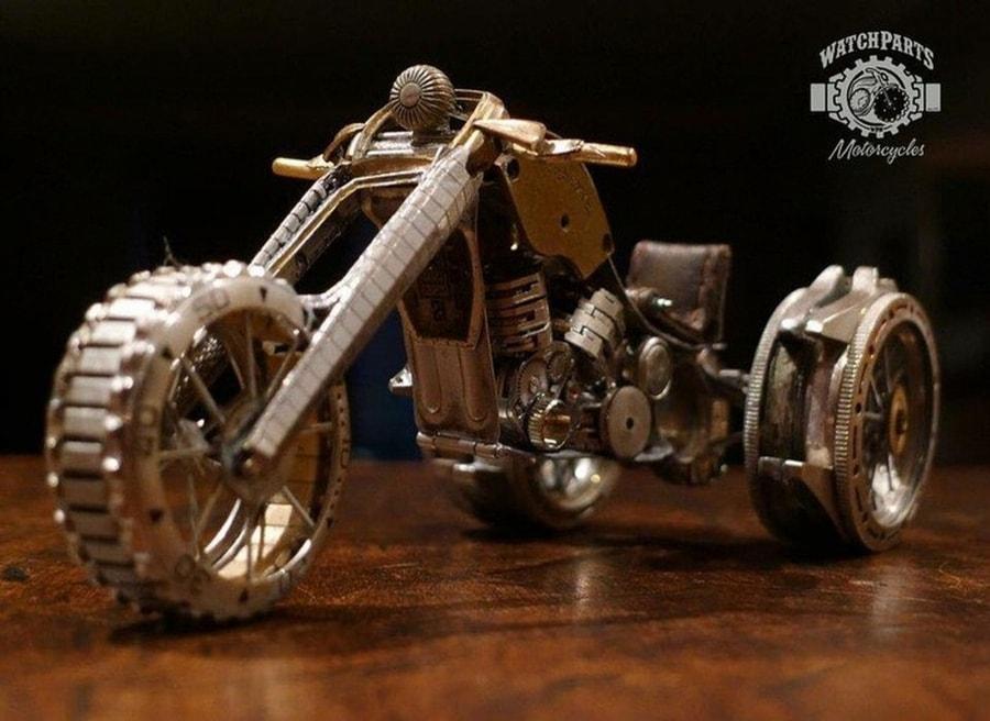 Kleine Kunstwerke aus alten Uhren, gebaut von Dan Tanenbaum | Design/Kunst | Was is hier eigentlich los?