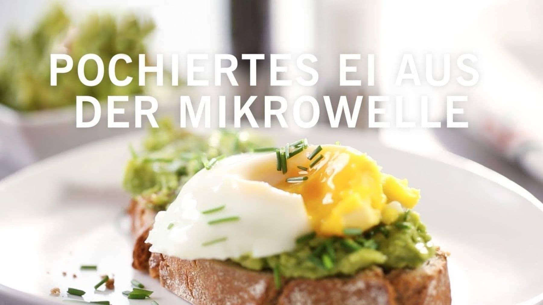 Wie man ein pochiertes Ei schnell zubereitet   Essen und Trinken   Was is hier eigentlich los?