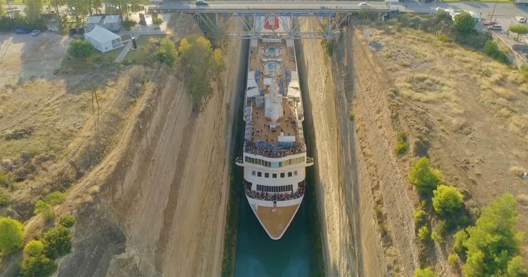 Die MS Braemar und der wirklich enge Kanal von Korinth | WTF | Was is hier eigentlich los?