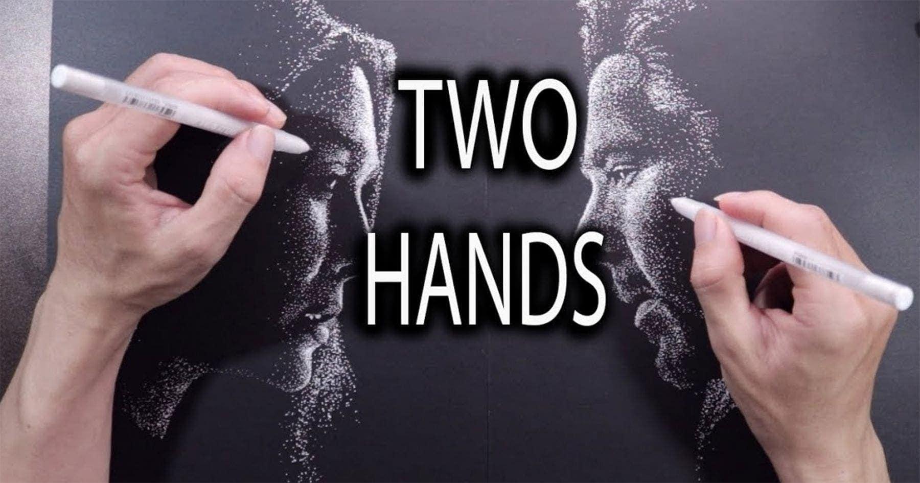 DP Truong malt zwei Bilder nur mit Punkten zur selben Zeit | Design/Kunst | Was is hier eigentlich los?