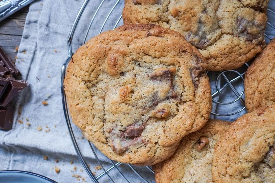 Line backt Chocolate Chip Cookies mit Walnüssen - die Zweite | Line backt | Was is hier eigentlich los?