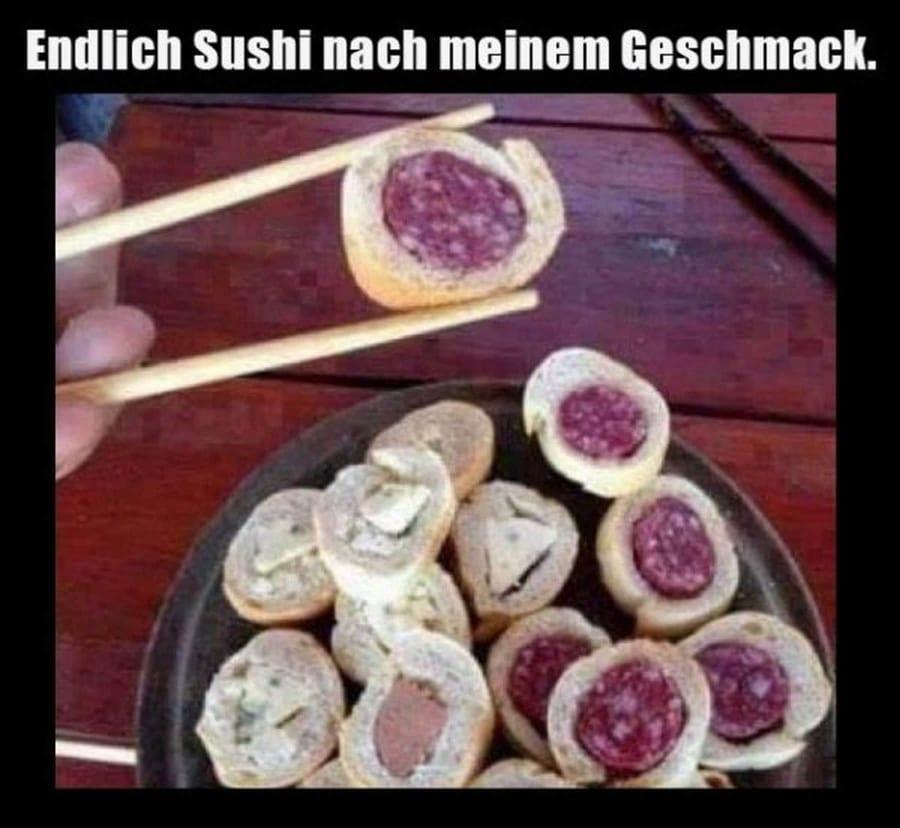 Mmmmhhhh … lecker Wurst-Sushi | Lustiges | Was is hier eigentlich los?