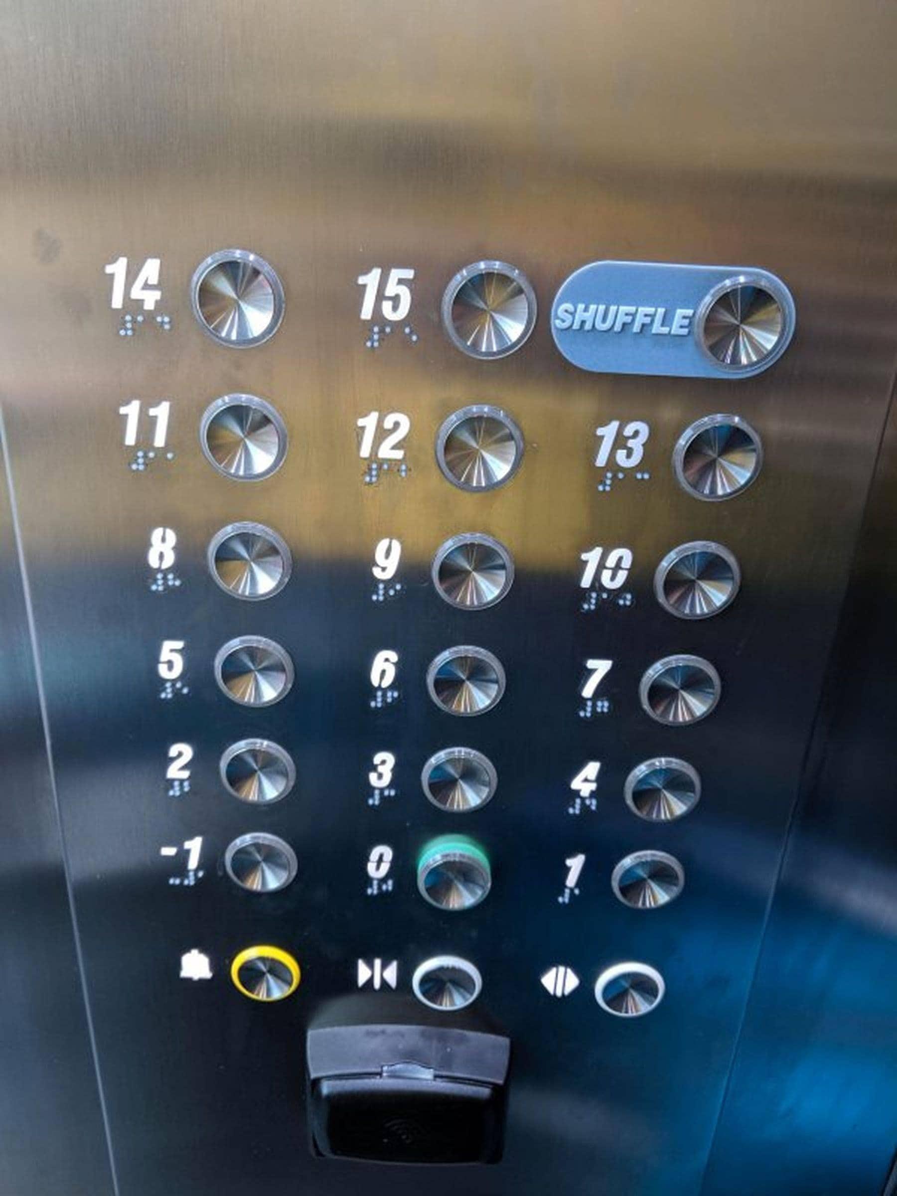 Warum sich nicht einfach mal vom Fahrstuhl überraschen lassen? | Lustiges | Was is hier eigentlich los?