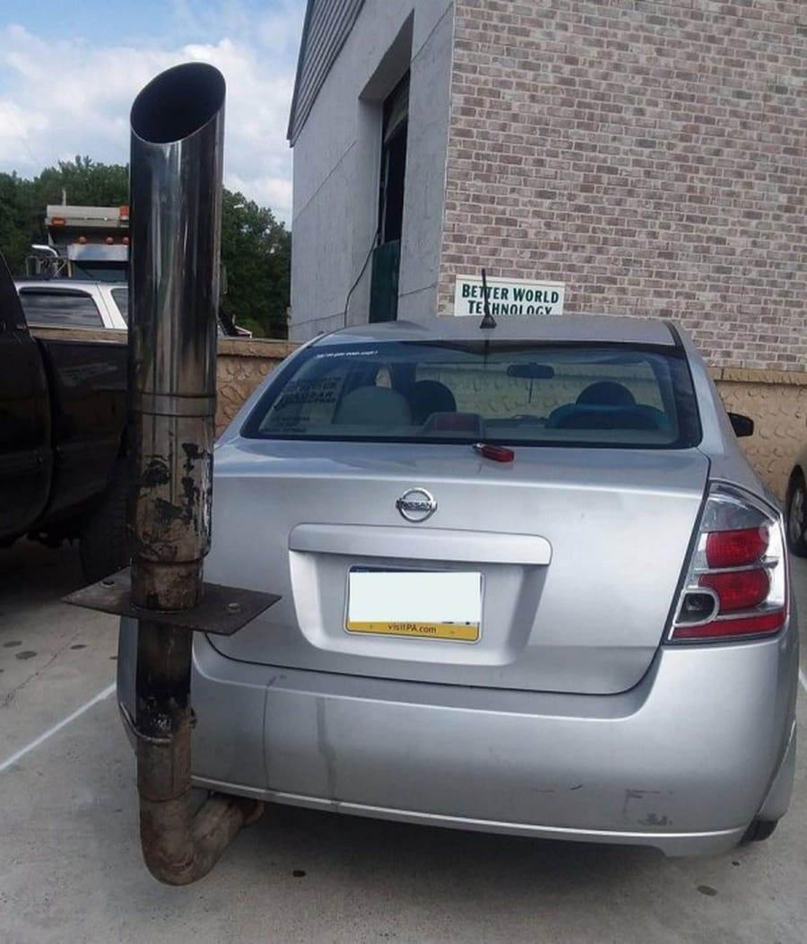 Wenn das Auto-Tuning keine Grenzen kennt | Lustiges | Was is hier eigentlich los?