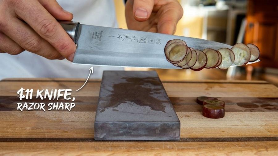 Wie man ein Messer richtig schärft | Was gelernt | Was is hier eigentlich los?