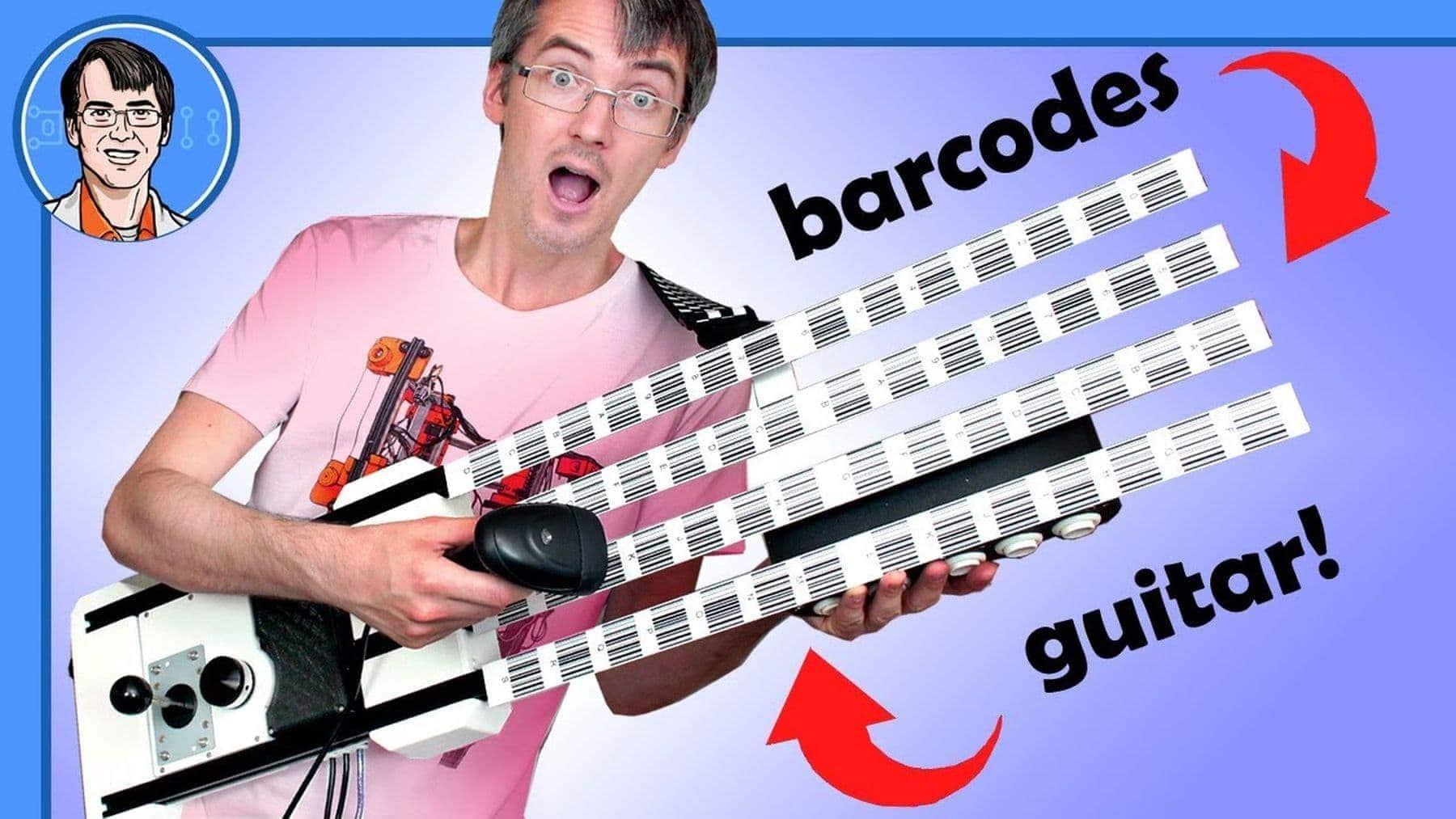 Eine Barcode-Gitarre | Gadgets | Was is hier eigentlich los?