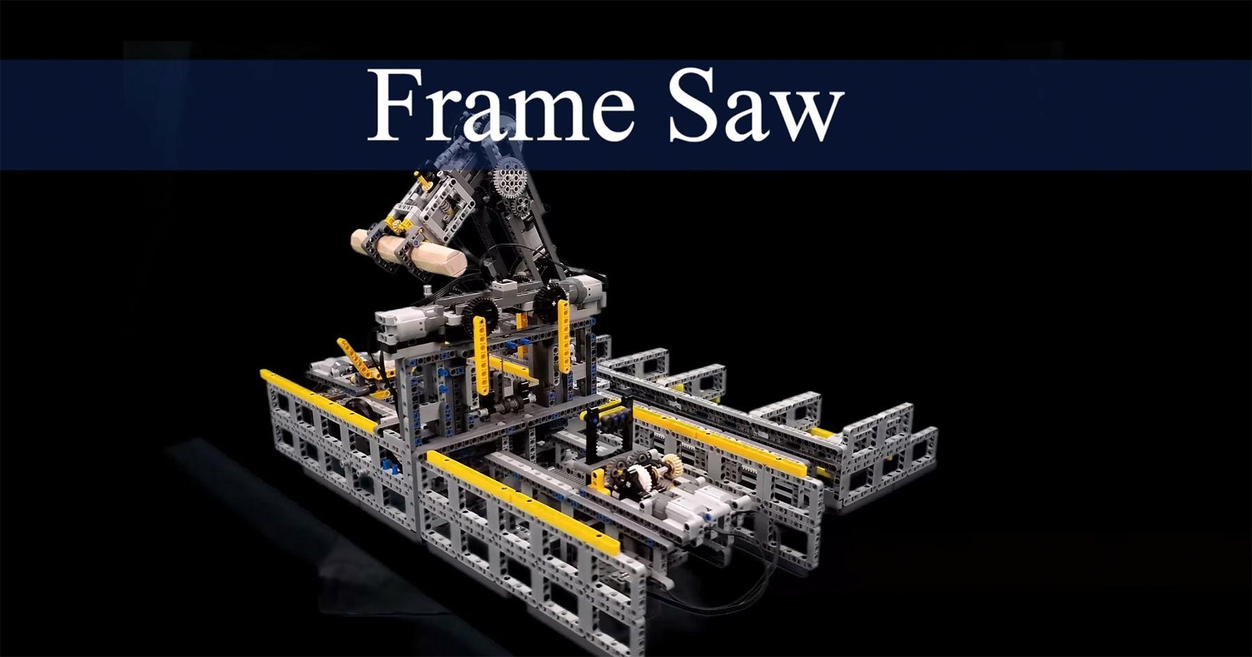Eine funktionierende Säge mit LEGO gebaut   Gadgets   Was is hier eigentlich los?