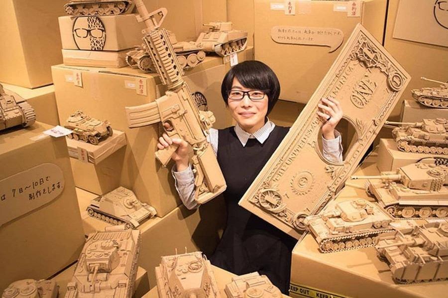 Kunst aus Amazon-Paketen | Design/Kunst | Was is hier eigentlich los?