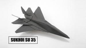 Origamin - Ein Kampfflugzeug falten | Handwerk | Was is hier eigentlich los?