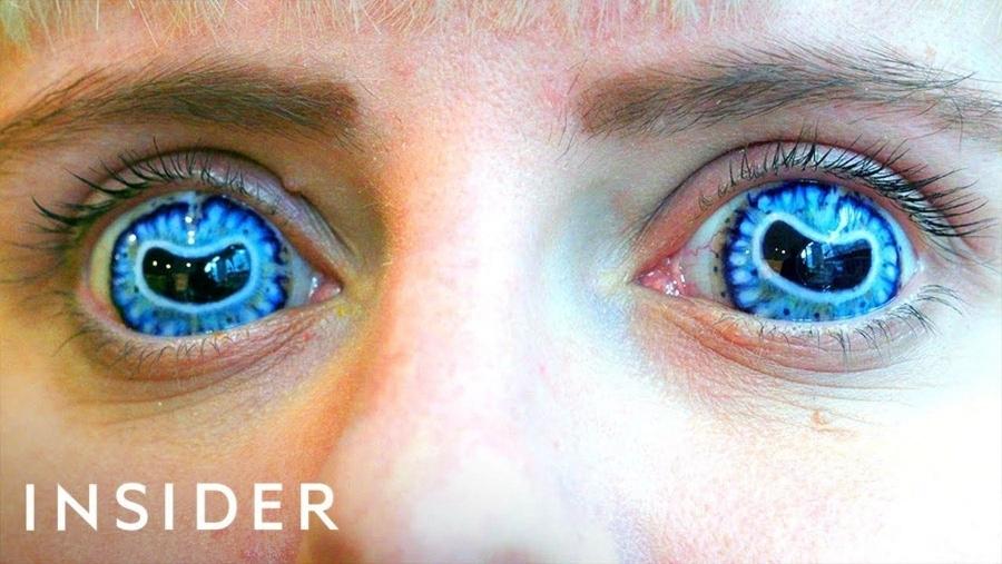Wie Kontaktlinsen für Film und Fernsehen hergestellt werden | Kino/TV | Was is hier eigentlich los?