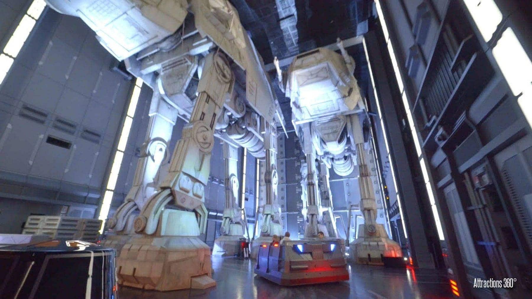 Eine Fahrt durch die neue Star Wars-Attraktion in Disney World | Awesome | Was is hier eigentlich los?