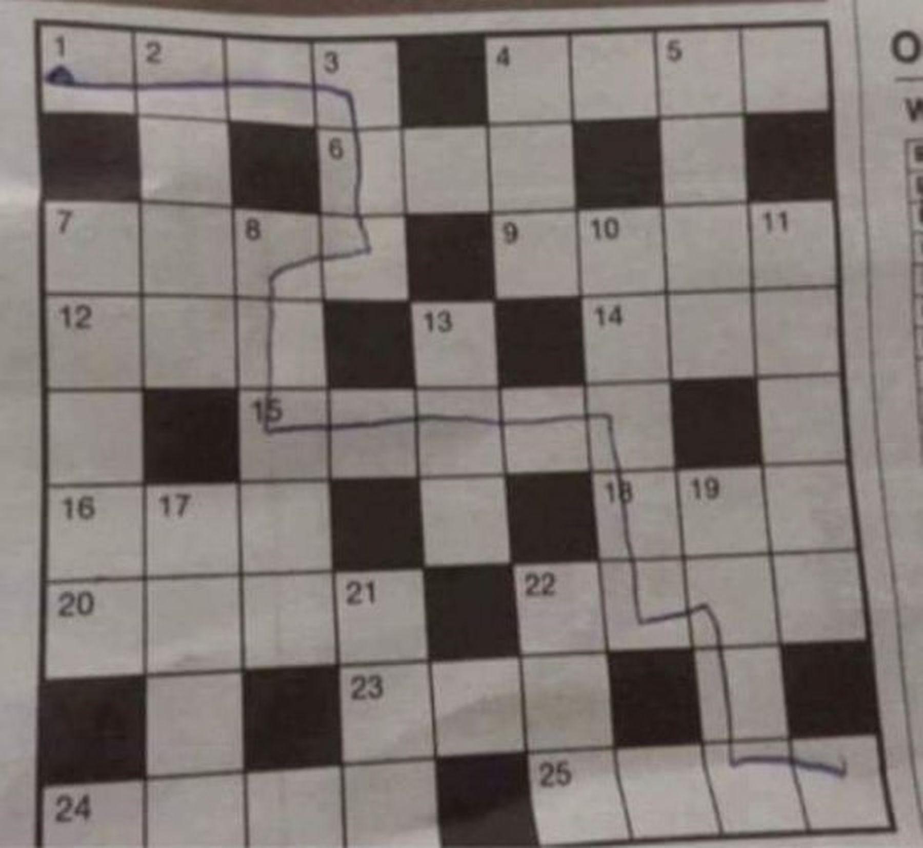 Wie man Kreuzworträtsel eigentlich lösen sollte | Lustiges | Was is hier eigentlich los?