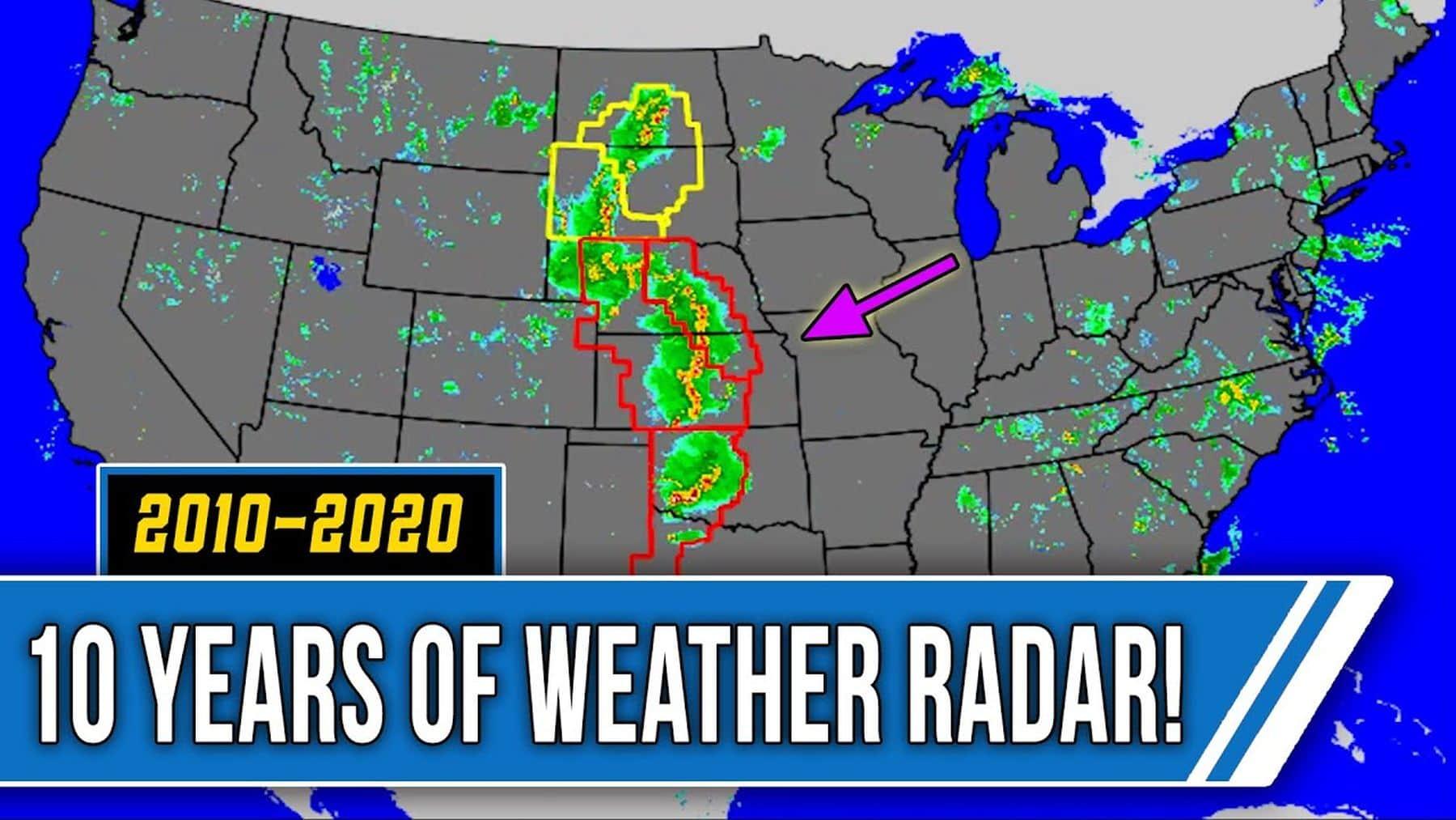 2 Stunden Entspannung mit dem Wetter-Radar | Zeitgeschichte | Was is hier eigentlich los?