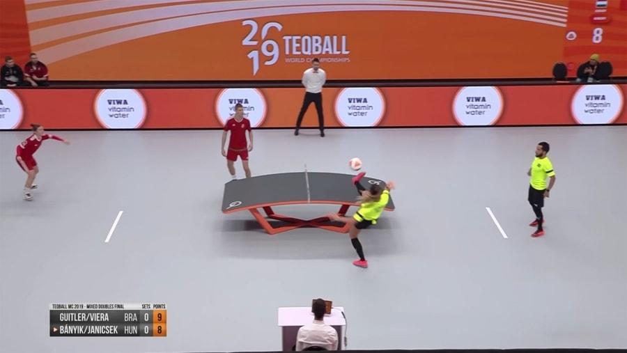 Die Weltmeisterschaft im Teqball – Fußball-Tischtennis | Awesome | Was is hier eigentlich los?